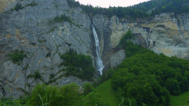 vattenfall lauterbrunen schweiz - wengen bildbanksvideor och videomaterial från bakom kulisserna