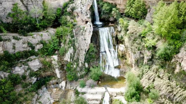 waterfall on Sant Miquel del Fai