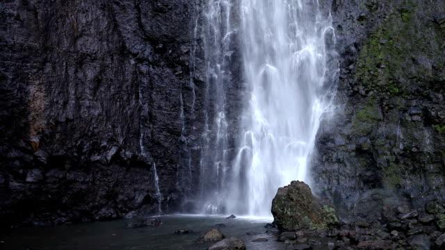 waterfall. Polynesia. Tahiti video