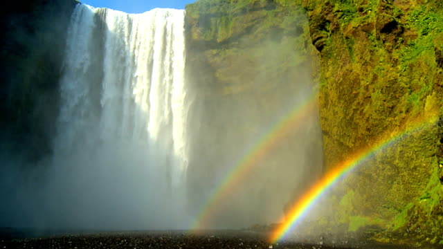 Waterfall Rainbow video