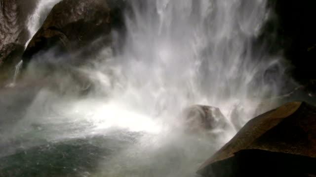 HD: Waterfall splashing