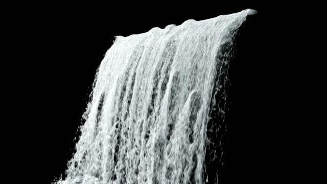 waterfall texture loop 4k - водопад стоковые видео и кадры b-roll