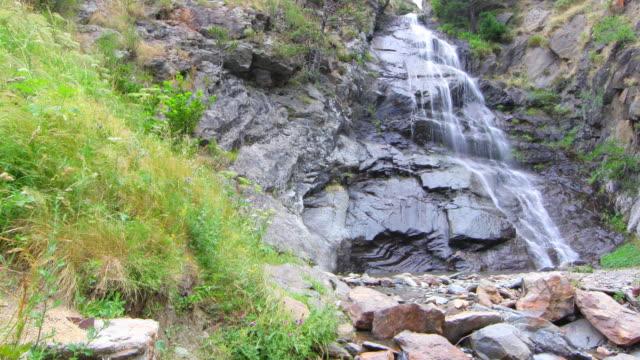 Waterfall time lapse HD 4k video