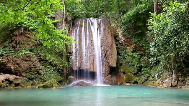водопад - национальный парк плитвицкие озёра стоковые видео и кадры b-roll