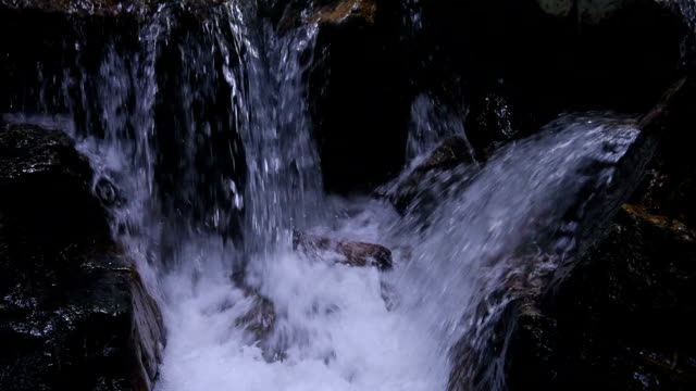 Waterfall with running water sound HD Video video