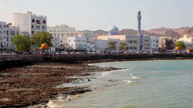 Waterfront of Muttrah, Oman video