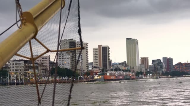 Waterfront view of Guayaquil