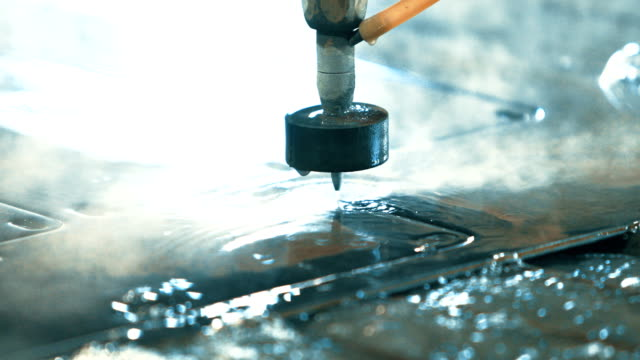 Waterjet metal cutter