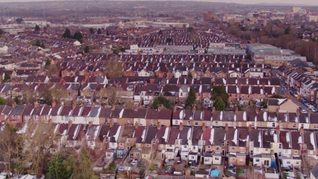 Watford Terraced Houses - Aerial View video