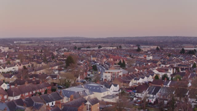 watford, uk from above - england stock videos & royalty-free footage