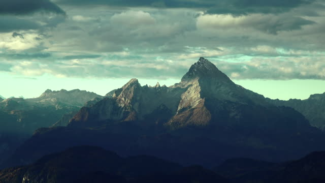 Watzmann Bavaria Clouds Time Lapse video