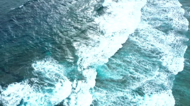 Wave of sea surface Aerial, Wave, Sea, Sea surface ocean floor stock videos & royalty-free footage