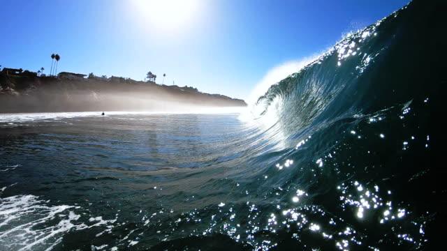 vidéos et rushes de wave  - californie du sud