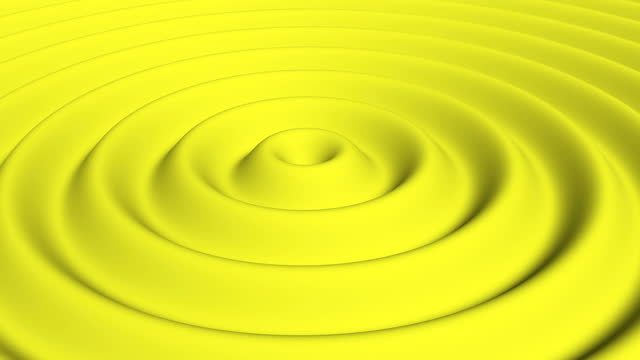 Wave yellow gradient Dynamic wallpaper Minimal design minimalistic cover footage 4k