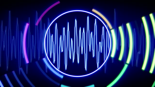 waveform technology loopable animation video