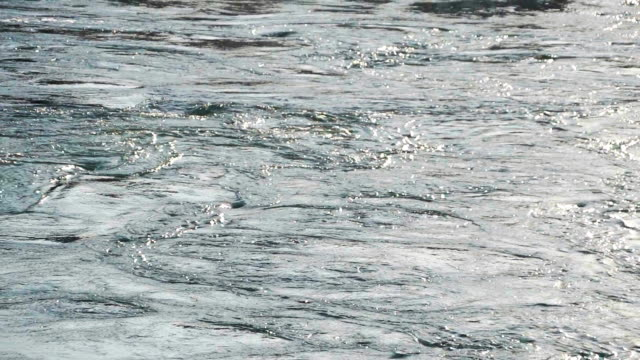 Waves in slowmotion video