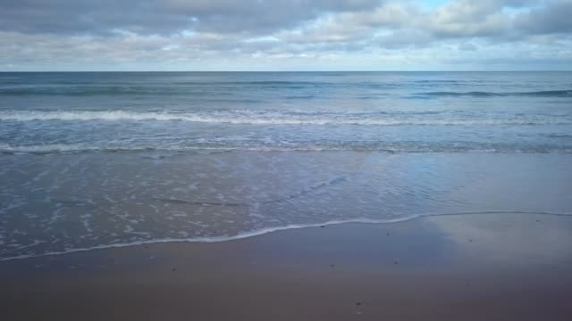 Waves on beach video