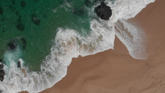 Waves Seen From Above - Spiral Movement