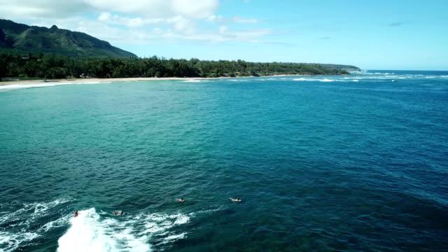 Waves Slowly Washing Toward Shoreline on Maui Island video