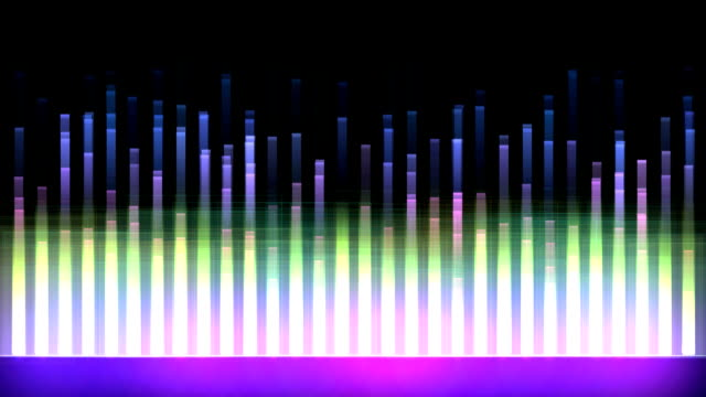 wavescope - sound wave stock-videos und b-roll-filmmaterial
