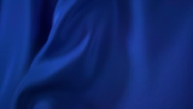 青いサタンを振る - 布点の映像素材/bロール