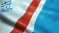 istock Waving Canada City Flag of St. Albert Seamless Looping 1185276712