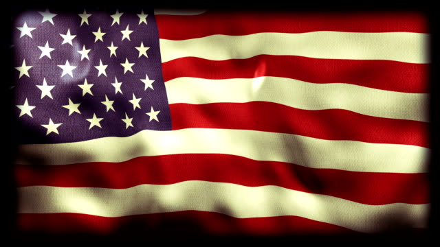 Waving Flag of the United States video