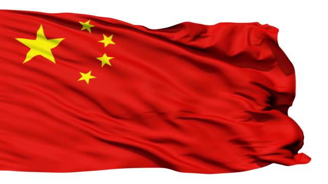wehende nationalflagge von china - kommunismus stock-videos und b-roll-filmmaterial
