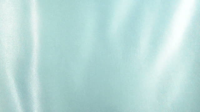 Waving turquoise satin video