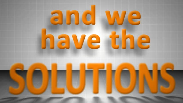 We are the solution video