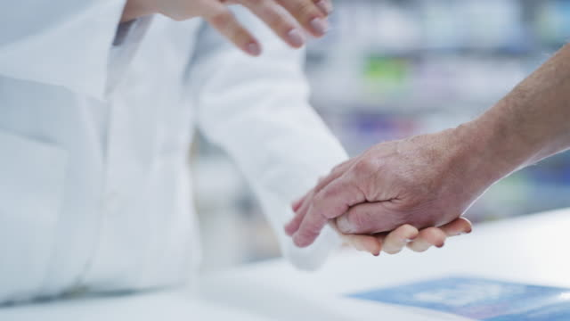 We care about our patients 4k footage of a pharmacist working in a chemist pharmacist stock videos & royalty-free footage