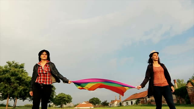 We support lgbt rights! We support lgbt rights! bisexuality stock videos & royalty-free footage