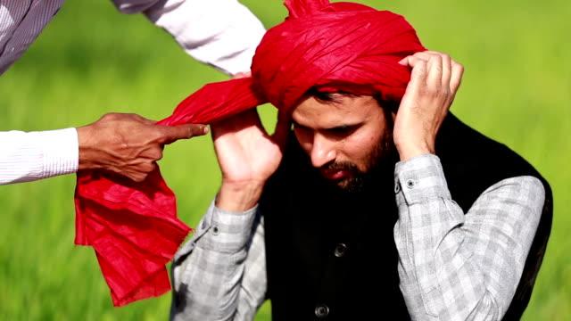 wearing turban - video