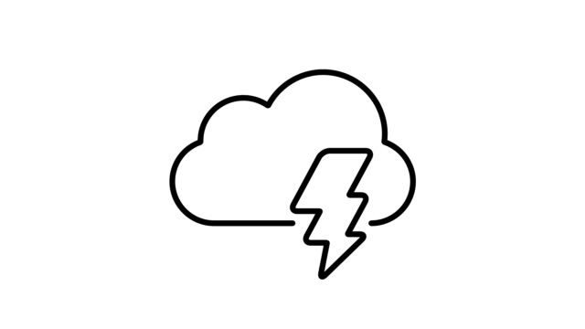 Weather and Climate - Simple Animated Icons video