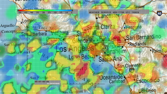 Weather Radar Digital Satellite Map video
