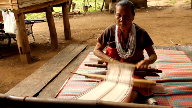 Weaving Silk handmade video