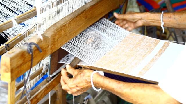 weaving, Thailand video