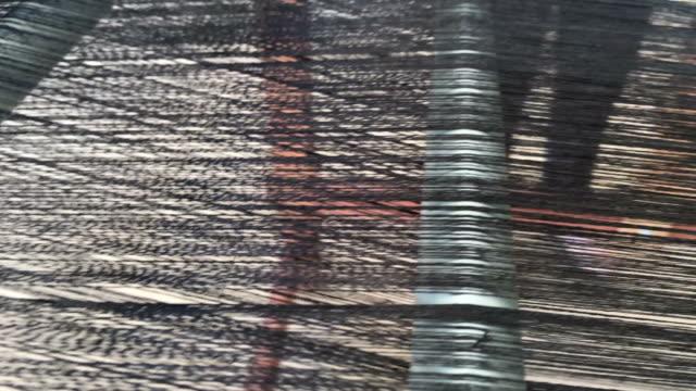 Weaving thread video