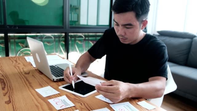 Web designer working laptop responsive design. Creative UI Ux designer teamwork meeting planning designing wireframe layout application development for smartphone screen mobile phone technology