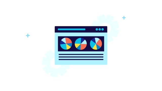 vídeos y material grabado en eventos de stock de plantilla de página web con optimización del motor de búsqueda - seo