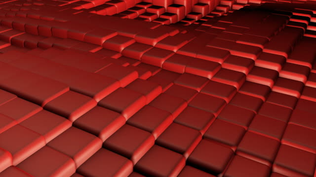 Website Background With Cube Squares and Colorful Art