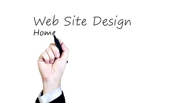 Website Design HD Video video