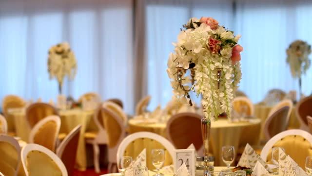 vidéos et rushes de salle de bal de mariage - lieu sportif