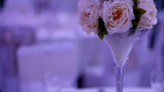 stockvideo's en b-roll-footage met mooie bloemen bruiloft - hortensia