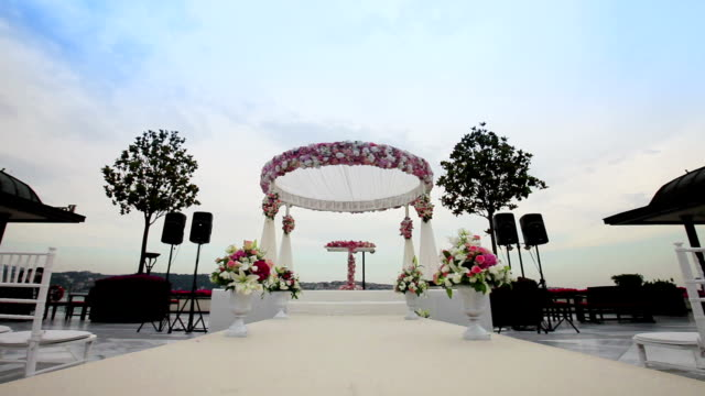 Wedding ceremony video