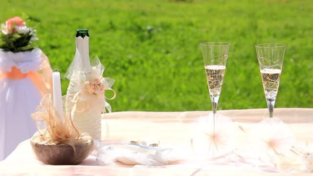 wedding champagne video