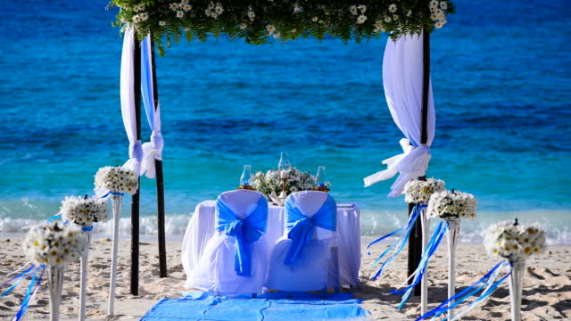 Wedding decorations video