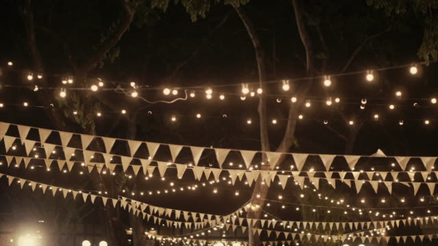 Cena de boda decoración - vídeo