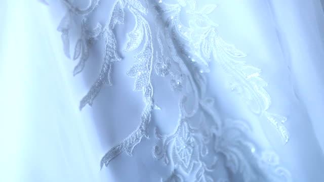 Detalle del vestido de boda - vídeo