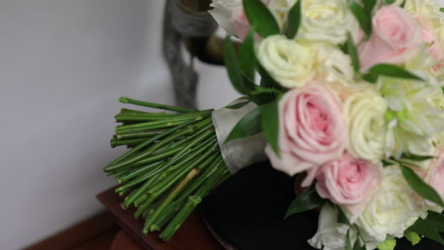 Wedding flowers bouquet for the bride.